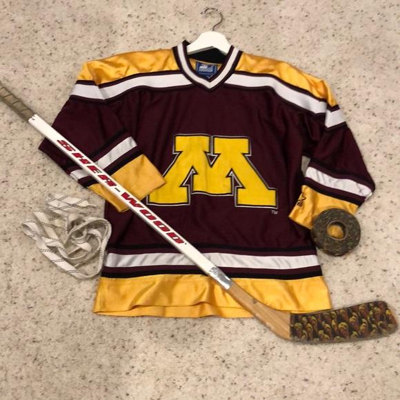 online store f4444 57d16 Minnesota Golden gophers youth hockey jersey